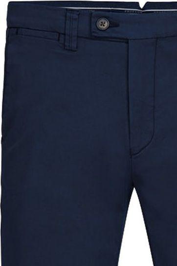 Profuomo Chino Garment DYE Dunkelblau