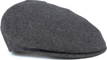 Profuomo Flat Cap Dark Grey