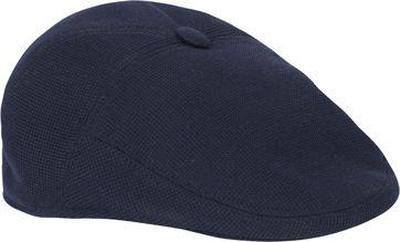 Profuomo Flat Cap Knitted Dunkelblau