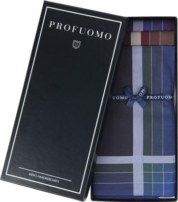 Profuomo Handkerchief Set Dark