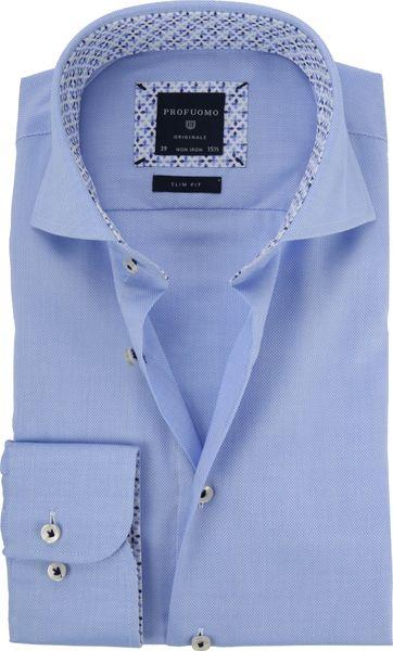 Profuomo Hemd CAW Oxford Blau