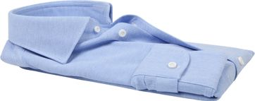 Profuomo Hemd Knitted Slim Fit Blau