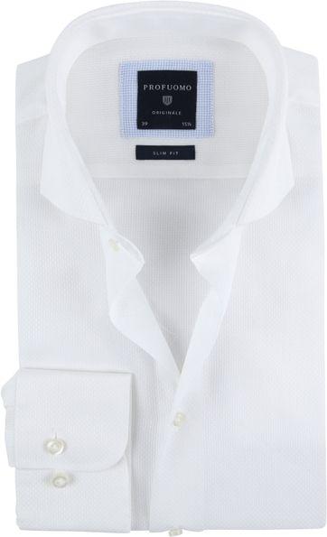 Profuomo Hemd SF Ice Cotton Weiß