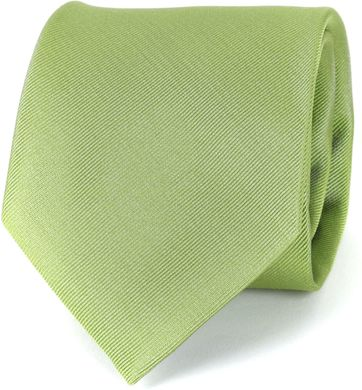 Profuomo Krawatte Lime 16G
