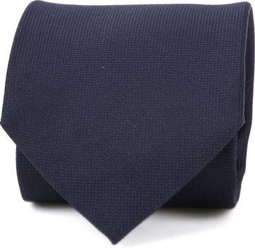 Profuomo Krawatte Navy Seide
