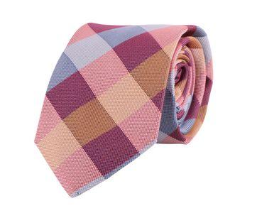 Profuomo Krawatte Rosa + Orange