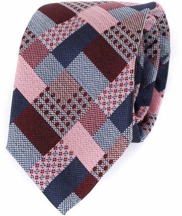Profuomo Krawatte Seide Bordeaux