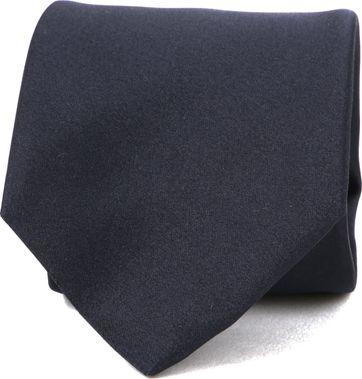 Profuomo Krawatte Seide Dunkelblau