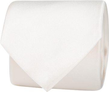 Profuomo Krawatte Seide Off White