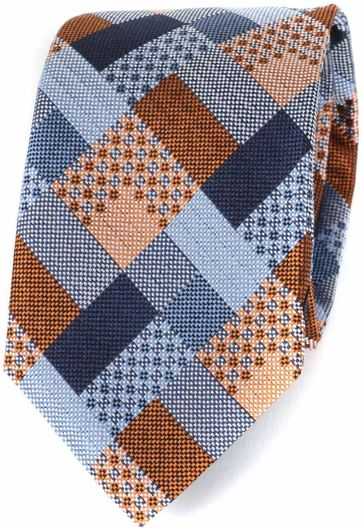 Profuomo Krawatte Seide Orange