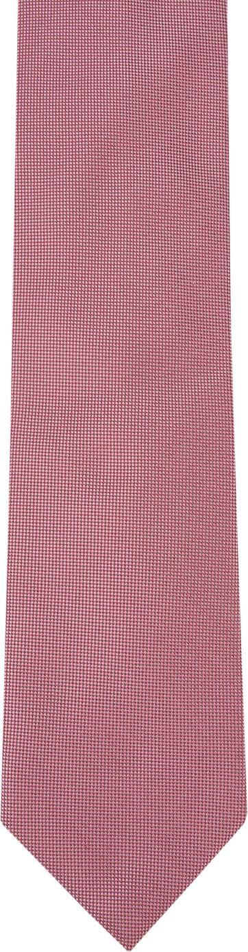 Profuomo Krawatte Seide Rot