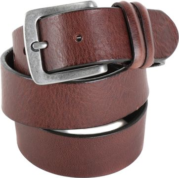 Profuomo Leather Belt Amsterdam Brown