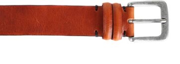 Profuomo Leather Belt Amsterdam Cognac