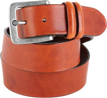 Profuomo Leather Belt Amsterdam Cognac