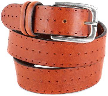 Profuomo Leather Belt Berlin Cognac