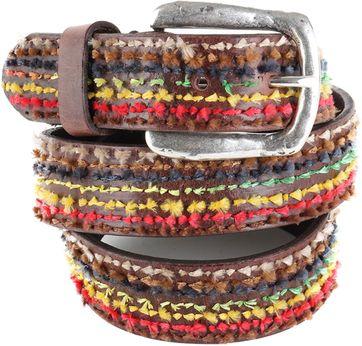 Profuomo Leather Belt Lisboa
