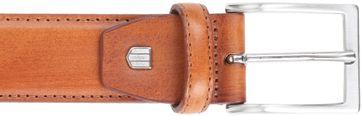 Profuomo Leather Cognac Belt