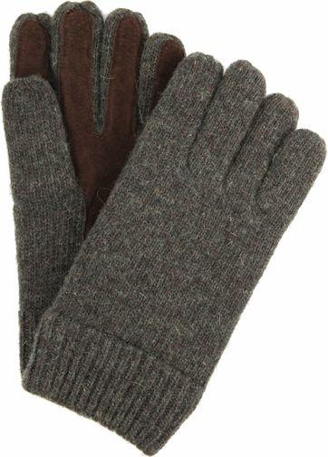 Profuomo Leren Handschoenen Groen