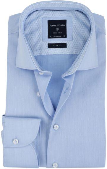 Profuomo Non Iron Shirt Blue SF