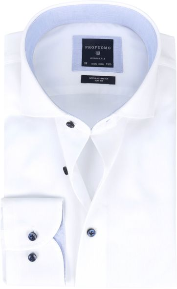 Profuomo Non-Iron White Shirt