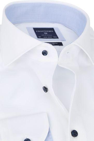 Profuomo Non-Iron White Shirt