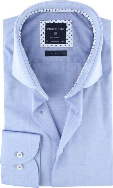 Profuomo Originale Hemd Blau