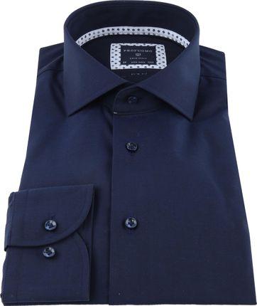 Profuomo Originale Overhemd Donkerblauw