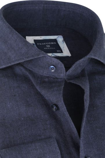 Profuomo Originale Overhemd X Donkerblauw