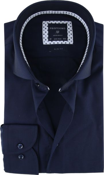 Profuomo Originale Shirt Dark Blue