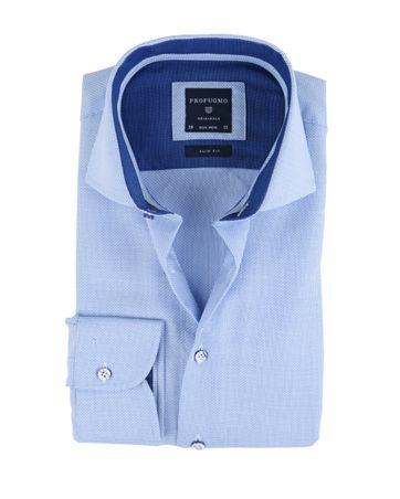 Profuomo Overhemd Blauw Non Iron