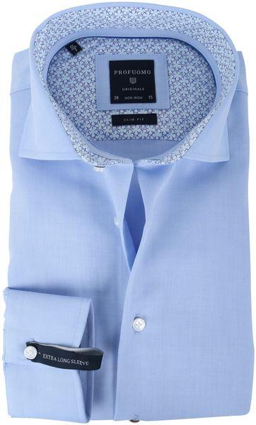Profuomo Overhemd Blauw SL7