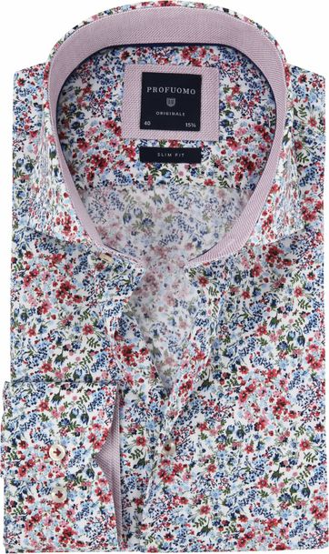 Profuomo Overhemd Bloemen