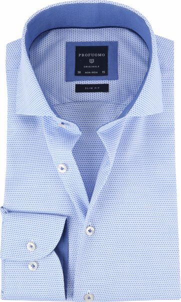 Profuomo Overhemd CAW Blau