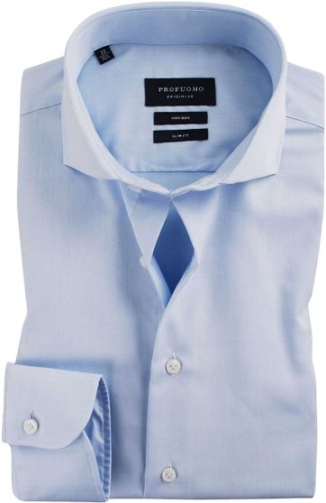 Profuomo Overhemd Cutaway Blue