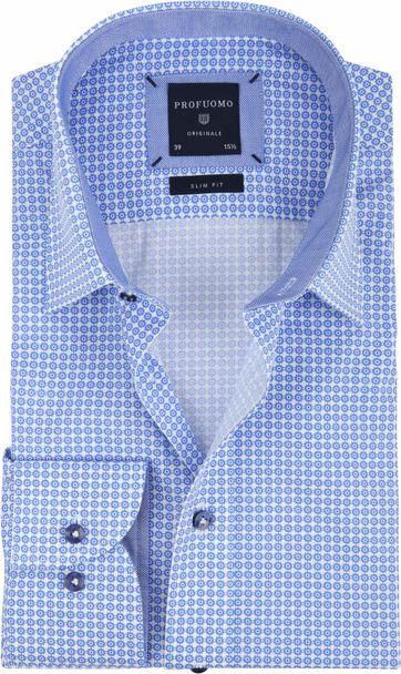 Profuomo Overhemd Kent Blauw