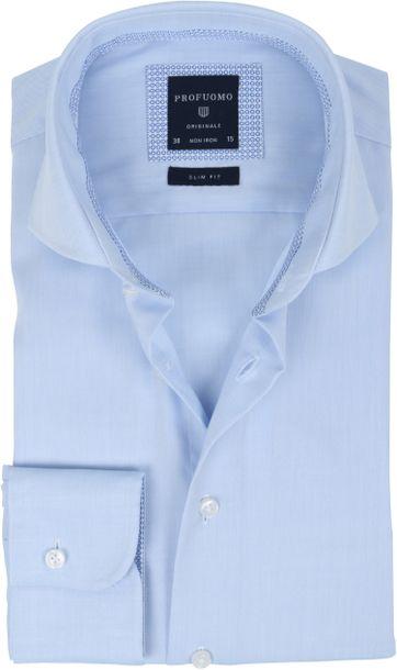 Profuomo Overhemd Lichtblauw