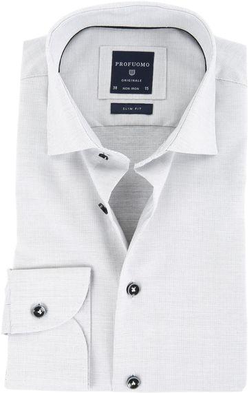 Profuomo Overhemd SC Grey