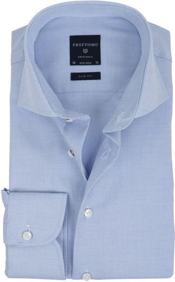 Profuomo Overhemd SF Blauw