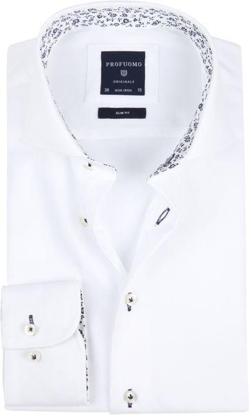 Profuomo Overhemd SF Uni White