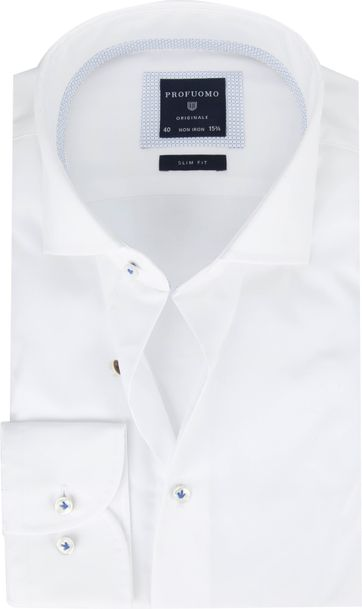 Profuomo Overhemd Slim Fit Cutaway
