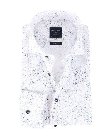 Profuomo Overhemd Splash Slim Fit