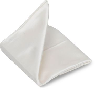 Profuomo Pocket Square Off-White