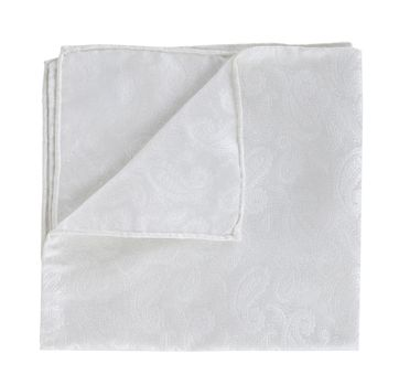 Profuomo Pocket Square Paisley