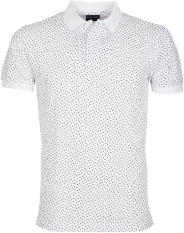 Profuomo Poloshirt Base Weiss