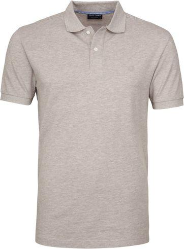 Profuomo Poloshirt Beige