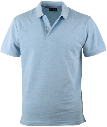 Profuomo Poloshirt Blauw