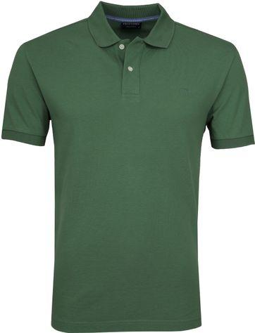 Profuomo Poloshirt Dark Green