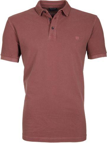 Profuomo Poloshirt Garment Bordeaux