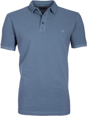 Profuomo Poloshirt Garment Indigo