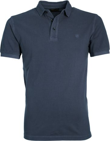 Profuomo Poloshirt Garment Navy